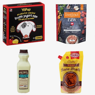 Raw Food & Frozen Items  for Dogs & Cats