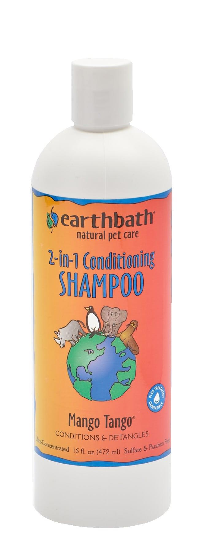 earthbath® Mango Tango® 2-in-1 Conditioning Shampoo